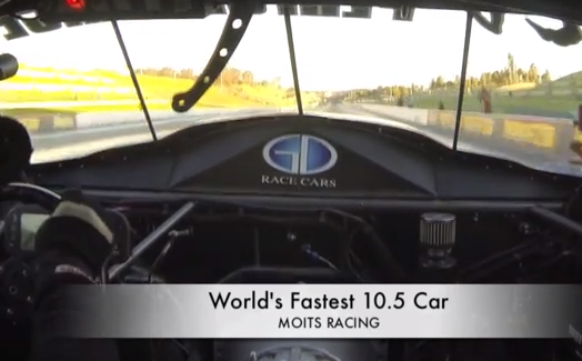In Car Video: Ride Along On The Fastest 10.5 Inch Tire Pass In Drag Racing History!