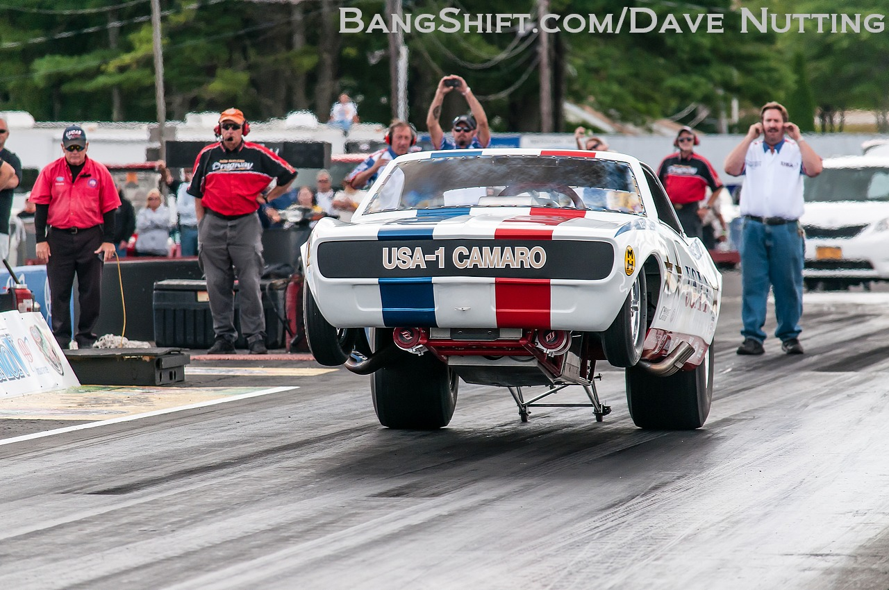bruce larson launches usa 1 1968 camaro funny car all the way off the ground we. Black Bedroom Furniture Sets. Home Design Ideas