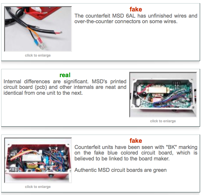 BangShift com Counterfeit Product Alert: How To Identify A Real MSD