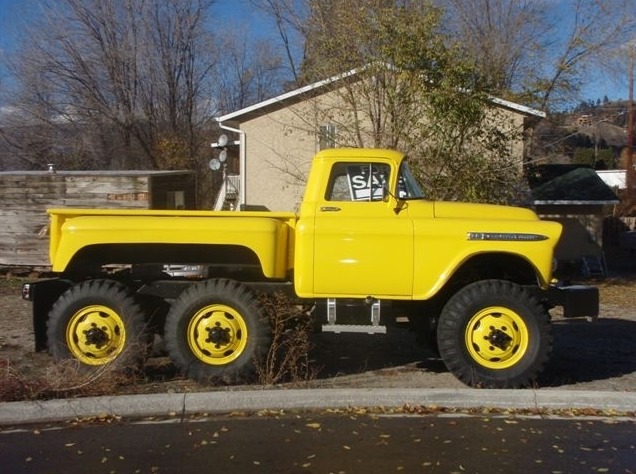 Bangshift Com Ebay Find If I Won The Lottery I Would Buy This Epic 6x6 1959 Chevrolet Apache For Brian Bangshift Com
