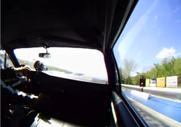 The Parting Shift: In-Car Video of a Dude Grabbing Gears With the Wheels Up