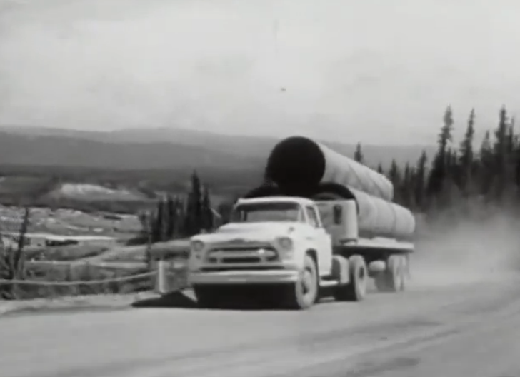 The 1957 Chevy Trucks on the Alcan Run – An Absolutely AWESOME 1950's Chevrolet Promotional Film