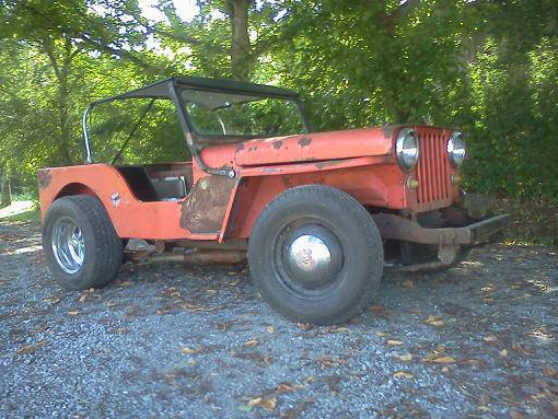 Flat Fender Jeep >> Bangshift Com Craigslist Find A Rat Rod Willys Flat Fender Jeep