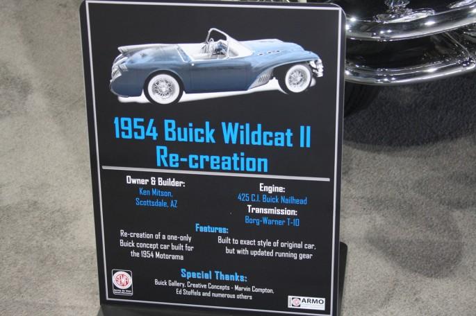Buick 1954 Wildcat II recreation 242
