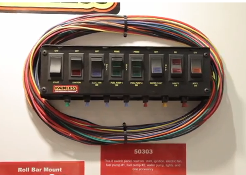 Picture 32 bangshift com sema show 2013 product spotlight we talk switch painless switch panel wiring diagram at mifinder.co