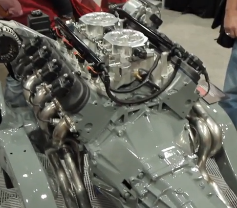 SEMA 2013 Video: LS Swap Greatness From Hooker. And LS Practically Installs Itself!