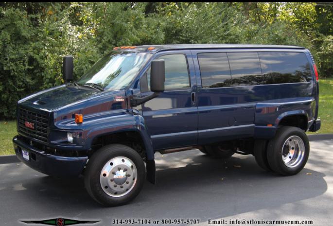 Bangshift Com 2004 C5500 Topkick Gmc Van