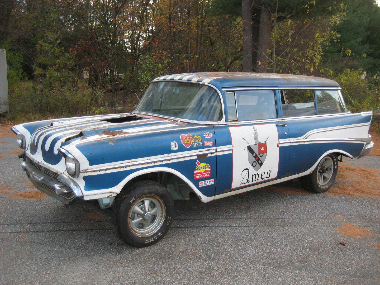 BangShift.com 1957 Chevy Wagon