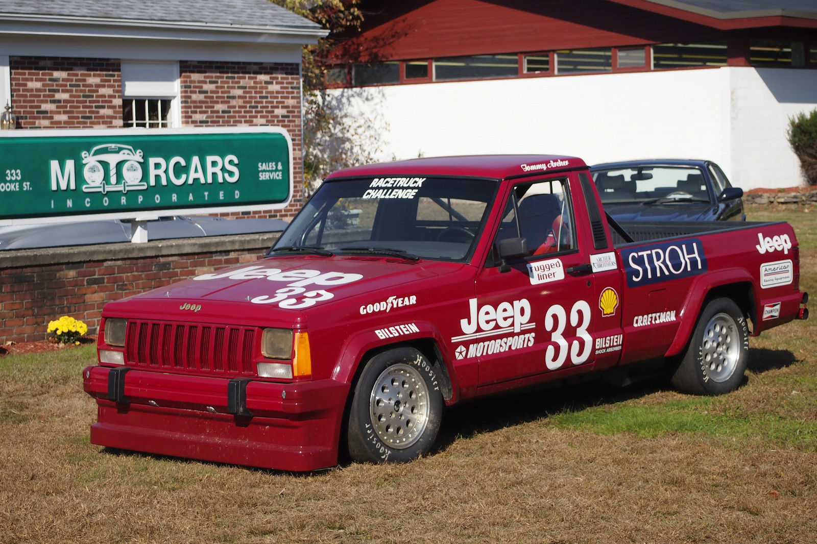 eBay Find: One Of The Mythical 1988 Jeep Comanche SCCA Road Race Champion Pickup Trucks