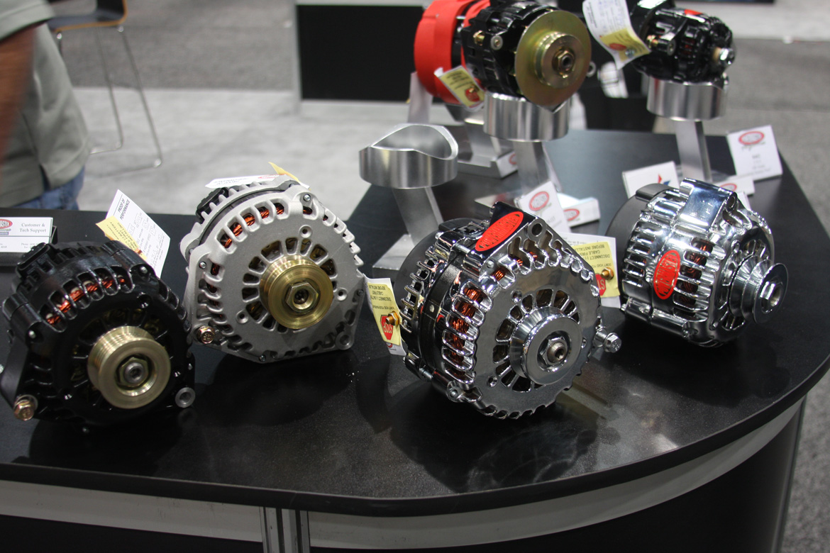 SEMA 2013: Powermaster Rolls Out New Alternators For Mopars And Starters For Fords