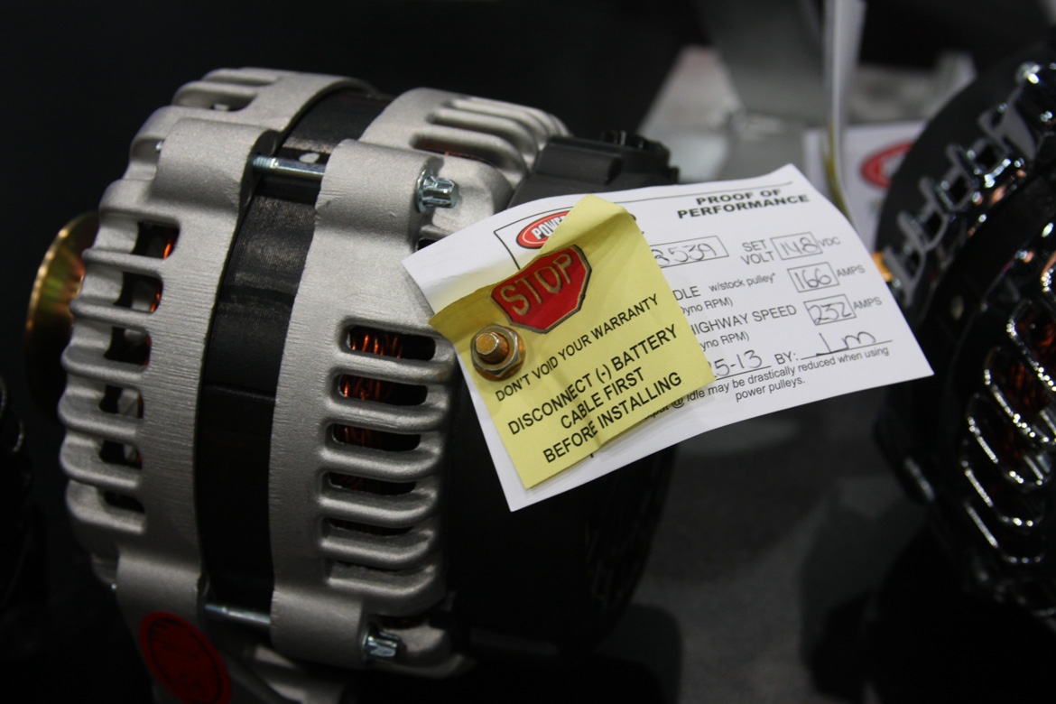 Powermaster Starters And Alternators Chrysler Performance Sema 2013 New Products112
