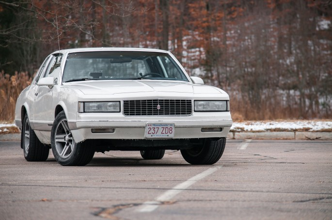 """Here's the car back on all four wheels. The tires are a set of 245/50R-16 Falken all-seasons and will be swapped out soon for 15"""" wheels and snow tires."""