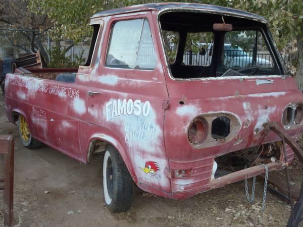 Bangshift Com Epic Famoso Speed Shop 1963 Ford Econoline Pickup For