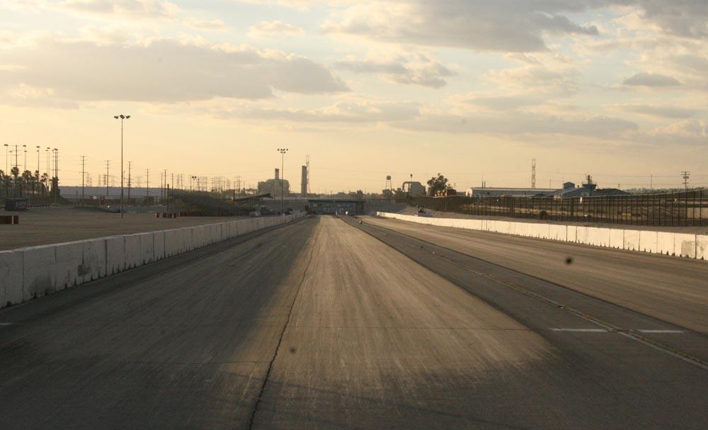 Fontana raceway drag strip