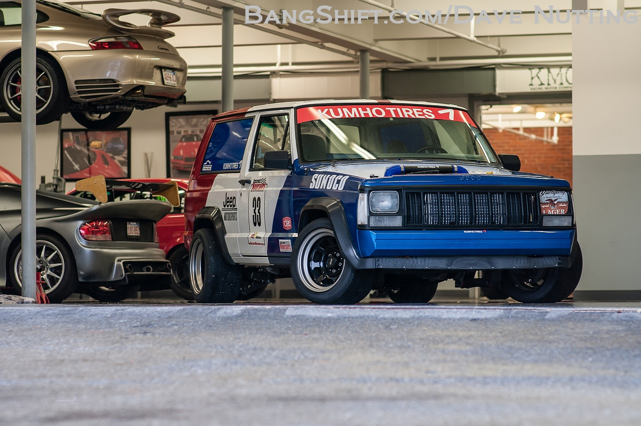 The Humbler: Five Buddies Built This Cheap Turbo Jeep To Go 12s And Destroy On The Autocross