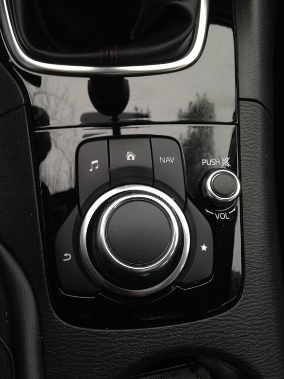 bangshift 2014 mazda 3 grand touring Mazda Sport here s the radio controls for the mazda 3 this knob and a couple of buttons