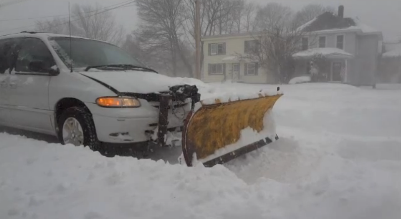 Mothers Of Invention: A Video Bonanza Featuring The Weirdest Home-Brewed Snow Plowing Vehicles We Could Find