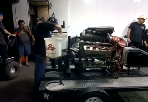 If You've Never Seen Del Worsham's Nitro Powered Mega-Rita Machine, You Need To Watch This
