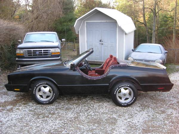 craigslist find a shorty monte carlo that dave nutting admitted he would drive