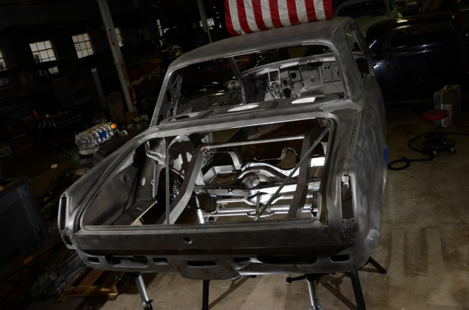 That is it for now and we'll be back soon with another update. There's obviously a ton of work to do and Kevin is flying through lots of it. Stay tuned...this thing is starting to turn into a car!