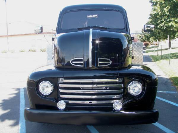 BangShift com Check Out This 1948 Ford COE Ramp Truck We Found On