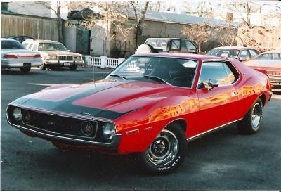 1972 Javelin AMX