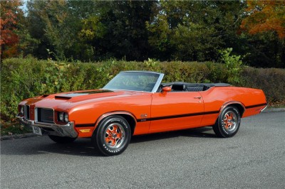 1972 W30 Olds 442 Convertible