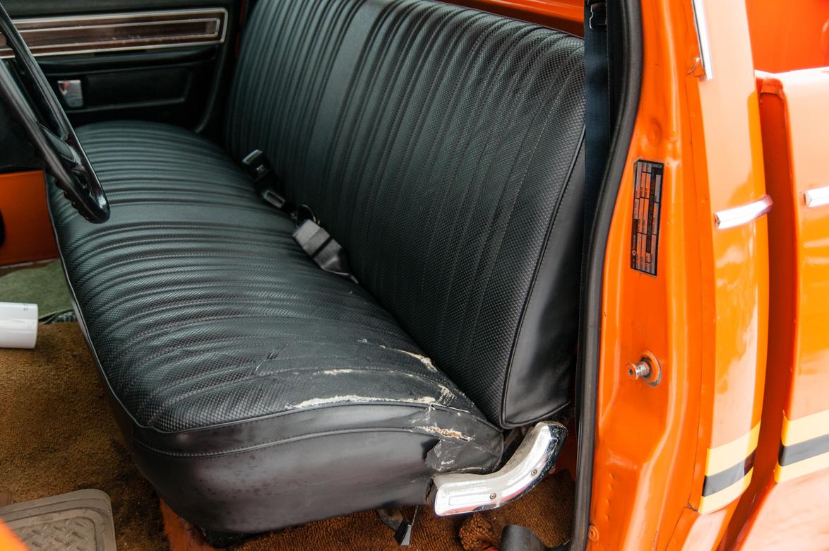 Dodge Powerwagon Omaha Orange on 1977 Dodge Power Wagon