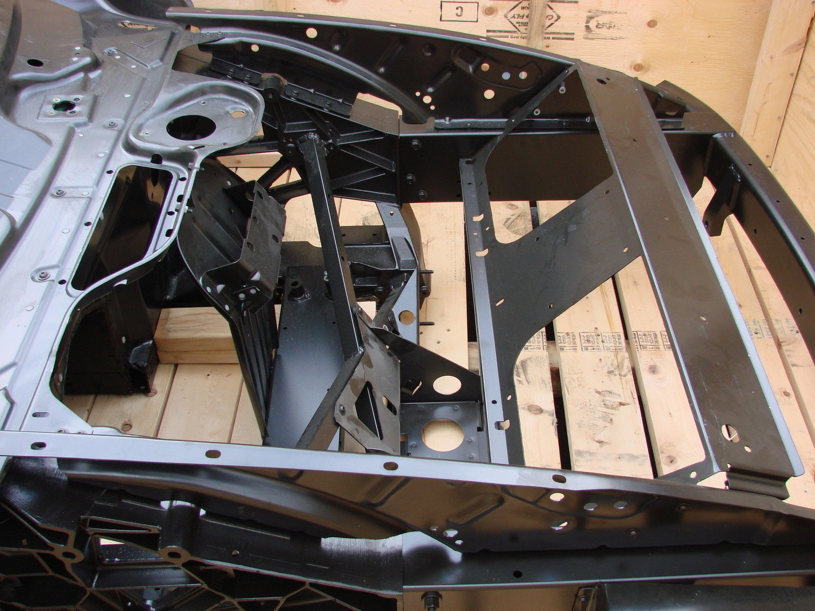 Ebay Ad Link  Ford Gt Supercar Chassis In A Crate