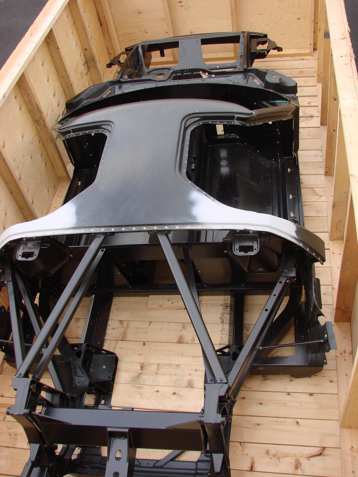 BangShift.com 2006 ford gt chassis
