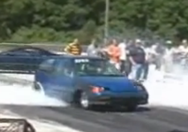 Turbo Buick V6 Powered Geo Metro Goes 9s @ 140+ — You Thought The Fiat 126 Was Bad Ass? This Thing Is Insane (video)