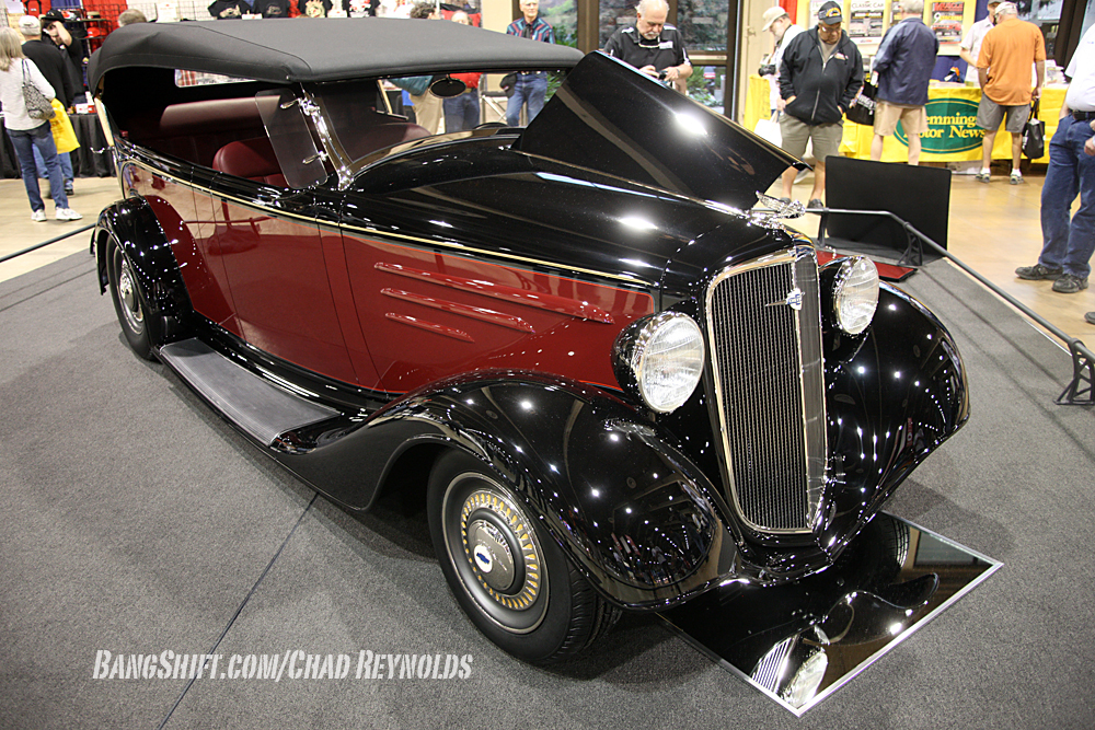 BangShift com America's Most Beautiful Roadster 2014 Is Wes Rydell's