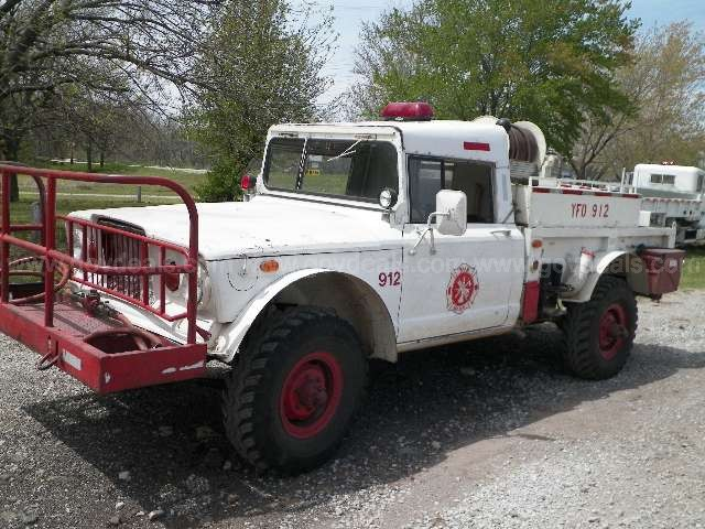 Liquidation Find: A 1967 Kaiser Jeep M715 Fire Truck That Would Completely Hose My Marriage