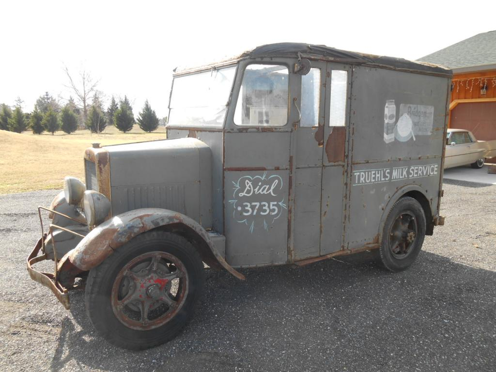 eBay Find: 1936 Divco Milk Truck – One Of 9 Ever Built – Amazing Complete Unit!