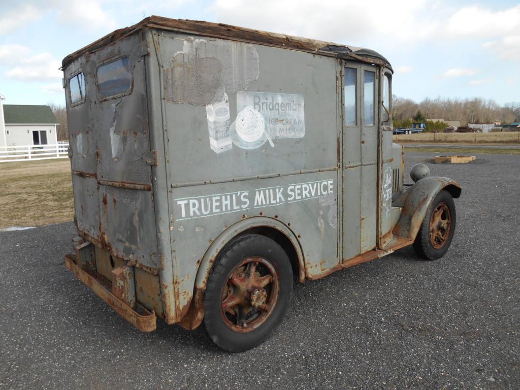 Bangshift Com 1936 Divco Milk Truck