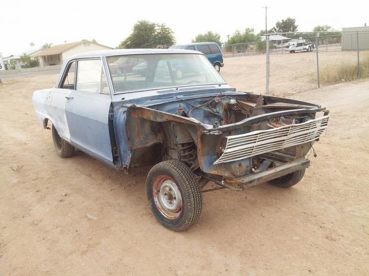 BangShift com 1962 Chevy II Altered Wheelbase A/FX Car