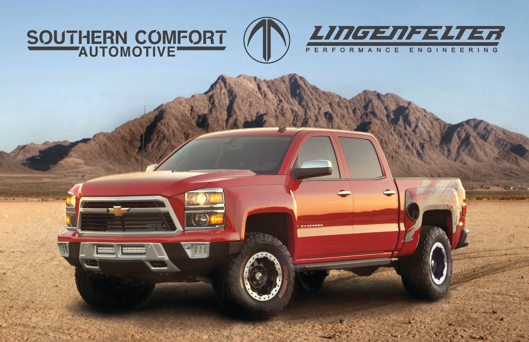 Lingenfelter Performance Engineering Unveils Reaper Truck – A Chevy To Run With (Over?) The Raptors!