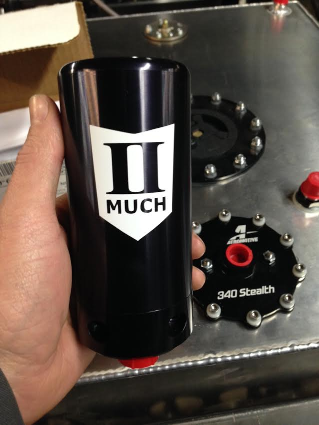 Project Violent Valiant Update: Fuel System Components From II Much Fabrication And Aeromotive Enter The Picture