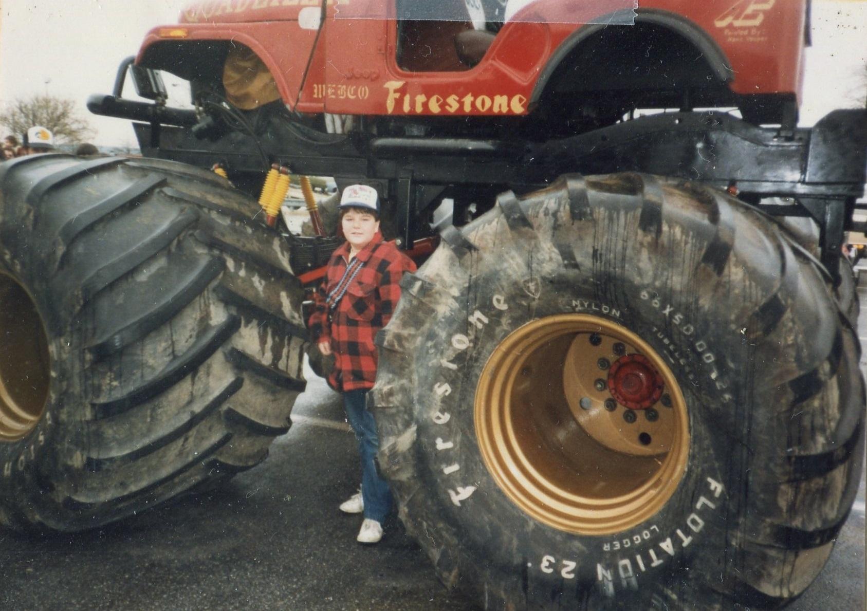 BangShift com ushra monster trucks