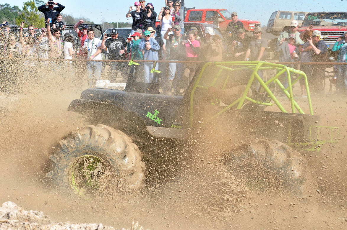 Action Gallery: Flying Mud And Much From Dirty Gras 2014 In Crosby, Texas
