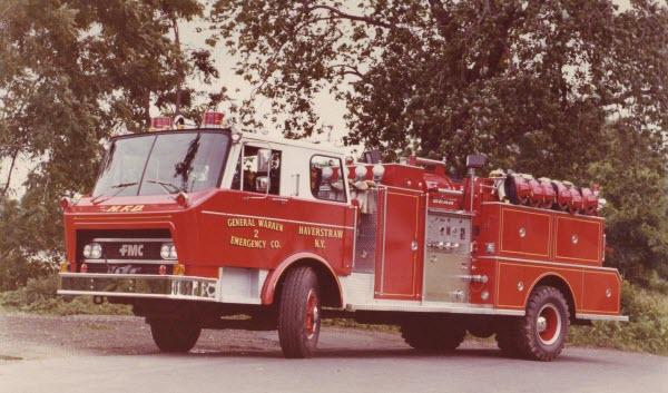 FMC Fire Truck