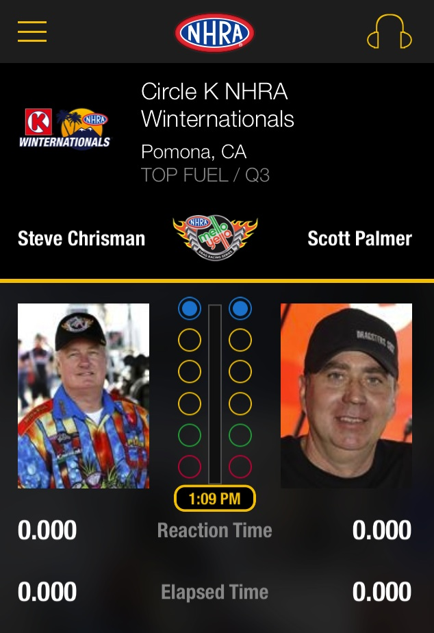 We Test Out The Brand New NHRA App! Live Timing From Anywhere In The World…And It's Free!