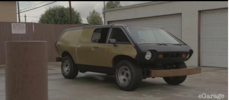Cool Video: A Restored Brubaker Box Van Is Cool, Weird, And One Man's Dream Car