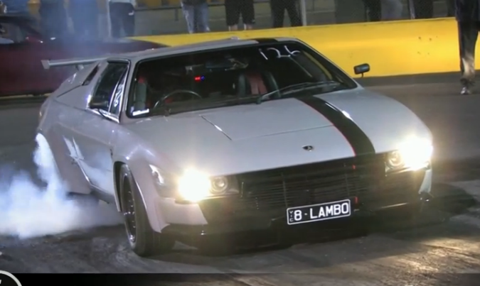 Watch This Real Lambo With LS1 Power From Australia Dip Into The 9s!