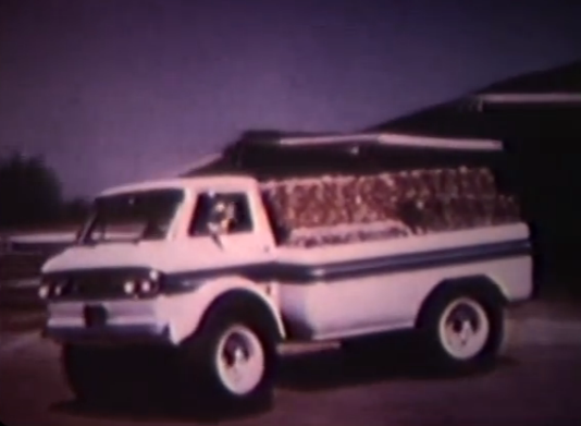 GM's AGL-4 Was An Articulated, 4×4, Monster Corvair Truck That Should Have Been Built – Incredible Video Of The Beast In Action!