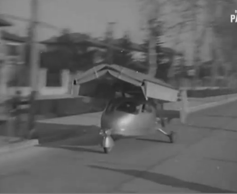 This Flying Car From Italy In 1949 Killed Less People Than The Flying Pinto And Looked Cooler (Video)