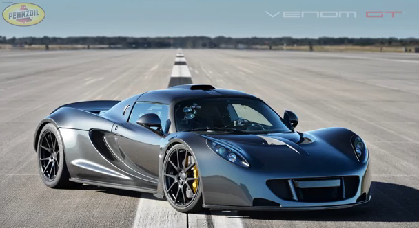 Watch A Hennessey Venom GT Go 270mph On A NASA Runway – In Car Video With Telemetry