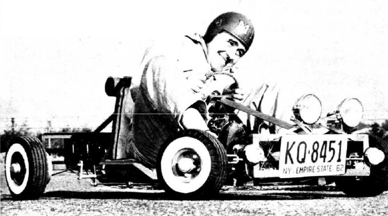 Mechanix Illustrated's 1962 Highway Kart Is Nuts And They Encouraged You To Build It And Drive It On The Street!