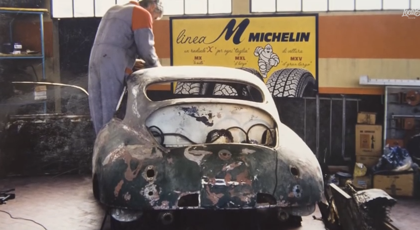 Video: This Old Italian Mechanic Finds, And Restores, The First Porsche Ever Built