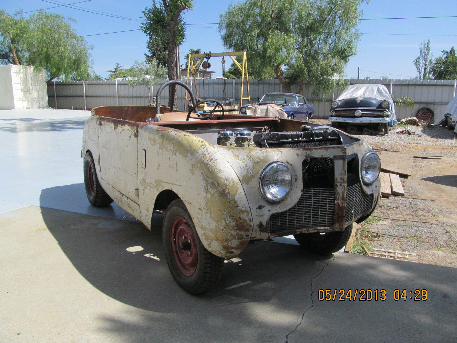 BangShift.com 1948 Crosley drag car